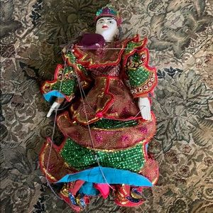 Thailand sequinned puppet new large